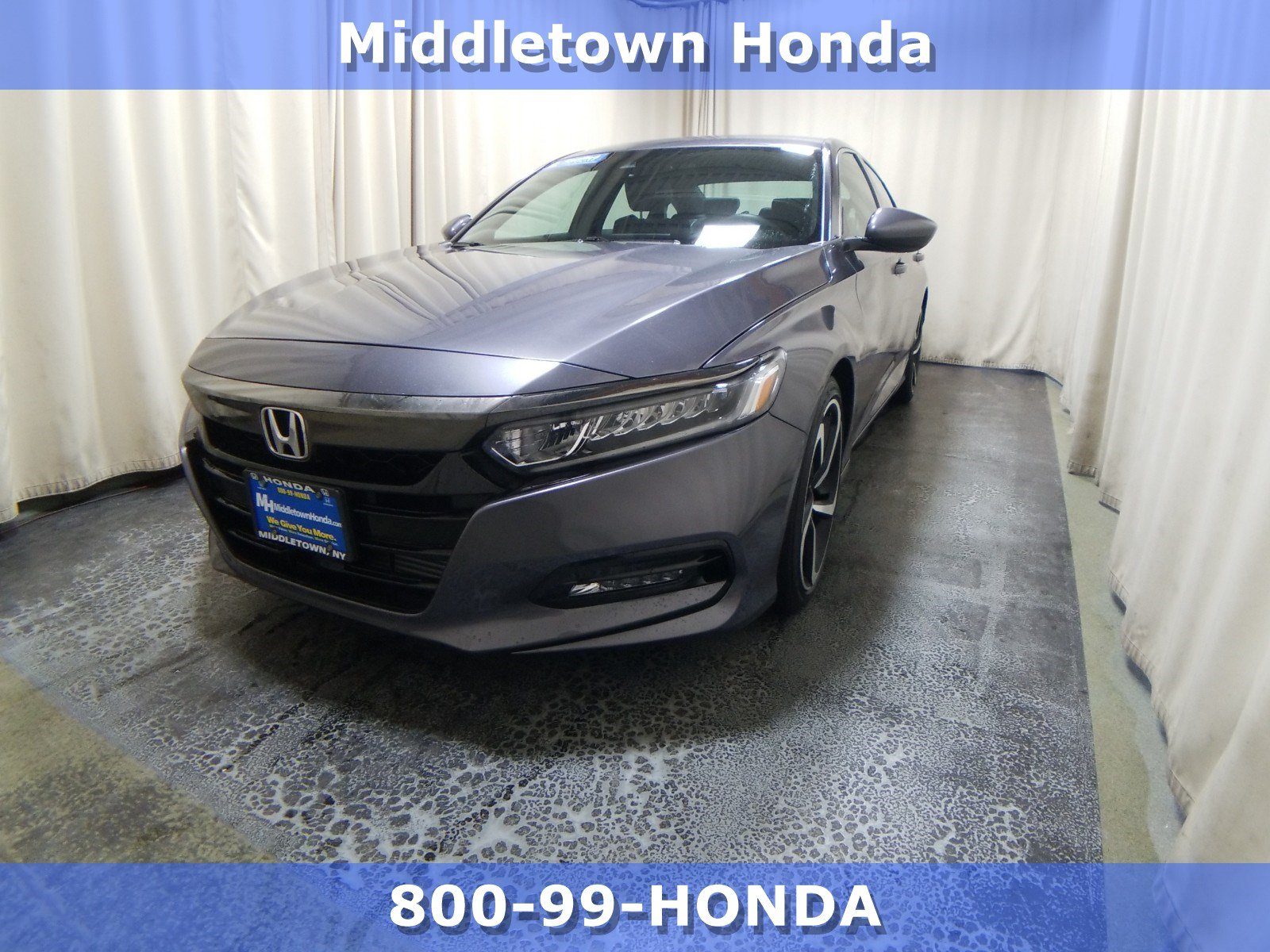 Certified Pre-Owned 2019 Honda Accord Sport 1.5T