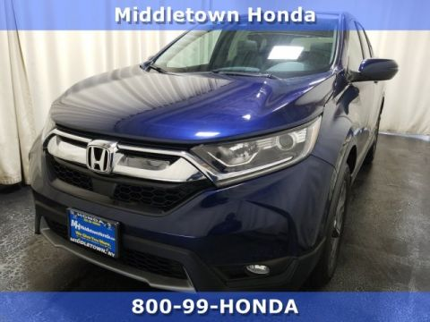 Certified Pre-Owned 2017 Honda CR-V EX